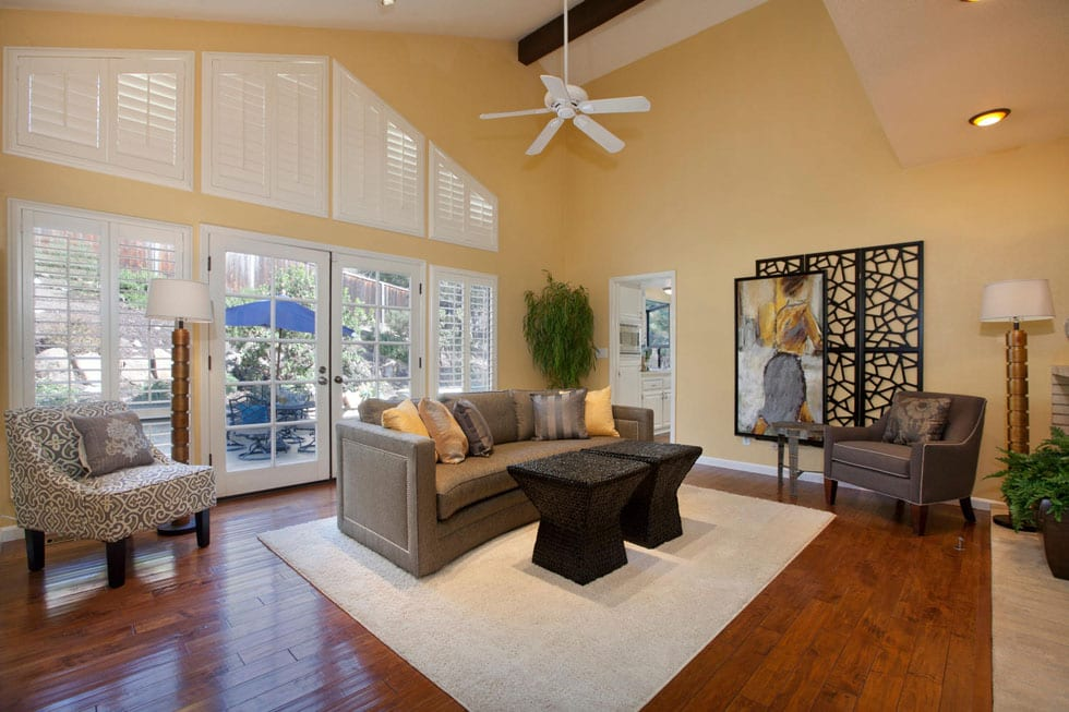 Living Spaces After staging